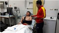 Gãy xương đòn, 'sao' U20 Việt Nam chia tay World Cup