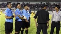 TOP những sự cố trọng tài ở lượt đi V-League 2017