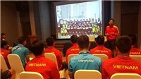 HLV Hoàng Anh Tuấn nói gì với U20 Việt Nam trước trận gặp U20 Pháp?