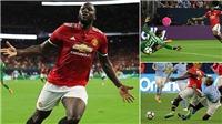 Video clip trận Man United - Man City