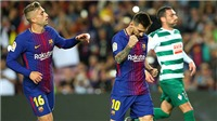 ĐIỂM NHẤN Barca 6-1 Eibar: Messi lập poker hoàn hảo, Paulinho đáng tiền