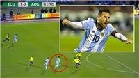 Một tay đưa Argentina tới World Cup, Messi sẽ vượt Ronaldo để giành Bóng vàng?