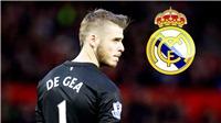 Man United sẵn sàng bán David de Gea cho Real Madrid, với một điều kiện