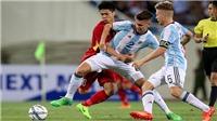 Công Phượng thừa nhận chơi không tốt trước U20 Argentina