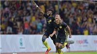 U22 Malaysia ngược dòng chiến thắng nhờ tài thay người của HLV