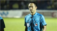 Trọng tài Nhật Bản bình thản trước sức ép từ 1 vạn khán giả xứ Thanh