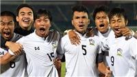 Thái Lan lần thứ 5 vô địch U18 Đông Nam Á 2017
