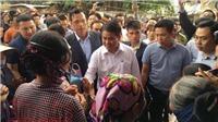 Chủ tịch Hà Nội Nguyễn Đức Chung thăm các cán bộ bị giữ ngay sau đối thoại với dân Đồng Tâm
