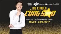Ca sĩ Noo Phước Thịnh giao lưu cùng độc giả báo Thể thao & Văn hóa