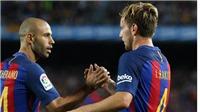Rakitic: 'Chủ tịch Pique yêu cầu tôi nhường đá penalty cho Mascherano'