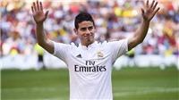 NÓNG: Bayern xác nhận chiêu mộ thành công James Rodriguez