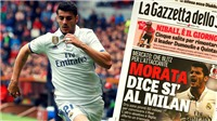 CHUYỂN NHƯỢNG 17/7: M.U đón tin vui từ Perisic. Milan sắp có Morata, 'rút ruột' Bayern