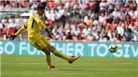 Courtois đá 11m như... phát bóng, Conte vẫn lên tiếng bảo vệ