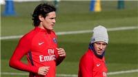 Cavani dằn mặt Neymar ngay từ đầu: 'Cậu nghĩ mình là Messi à?'