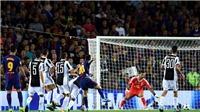 Video clip highlights bàn thắng trận Barca 3-0 Juventus