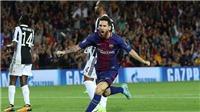 Lần đầu tiên bị Messi chọc thủng lưới, Buffon khen đối thủ hay hơn Ronaldo nhiều