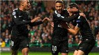 Video clip highlights bàn thắng trận Celtic 0-5 PSG