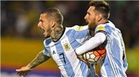 Thiên tài Messi lập hat-trick, Argentina giành vé dự World Cup 2018
