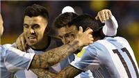 Video clip highlights bàn thắng trận Ecuador 1-3 Argentina