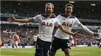 Tottenham 2–0 Arsenal: Spurs vẫn đe doạ Chelsea, hoàn thành ước nguyện xếp trên Pháo thủ