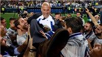 HỌ ĐÃ NÓI, Zidane: 'Tôi đang tột đỉnh hạnh phúc'. Enrique: 'Barca trả giá vì sự bất ổn của mình'