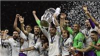 CĐV Real Madrid gọi tên Pique trong lúc ăn mừng vô địch Champions League