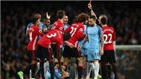 CẬP NHẬT sáng 29/4: Fellaini bị cảnh cáo, nhận án treo giò 3 trận. Man United đã chọn được người thay De Gea