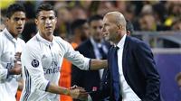 CẬP NHẬT tối 18/6: Zidane cầu xin Ronaldo ở lại. Chelsea phá bĩnh Man United vụ Morata