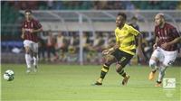Aubameyang lập cú đúp giúp Dortmund hạ 'đội bóng tương lai' Milan