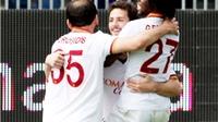 Cagliari 1-3 Roma: Destro xuất thần ghi hat-trick, Roma hạ Cagliari, gây sức ép lên Juve