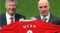 Howard Webb giải nghệ, Man United mất một trọng tài ưa thích?