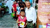 Hoa hậu và doanh nhân hỗ trợ nhà văn Lê Văn Nghĩa