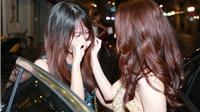 Fan nữ khóc khi được gặp ca sĩ Bảo Anh