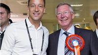 John Terry tri ân Sir Alex Ferguson, tiết lộ bức ảnh đặc biệt