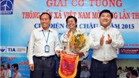 Giải cờ tướng TTXVN mở rộng 2016: Hơn 50 kỳ thủ tranh tài
