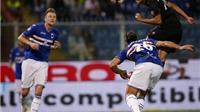 Sampdoria 0-1 Milan: Ghi bàn quyết định, Bacca 'đáp trả' Montella
