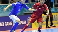 Cục diện bảng C: Futsal Việt Nam xếp thứ 3. Paraguay đè bẹp Guatemala