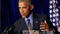 Tổng thống Obama quan ngại giải pháp hòa bình cho biển Đông ngày càng xa vời