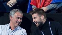 Jose Mourinho phải chăng đã làm hòa với Pique?