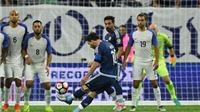 Cú đá phạt của Messi lọt Top 10 đề cử Bàn thắng đẹp nhất 2016