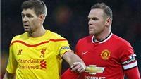 Rooney bị CĐV Man United 'ném đá' vì ca ngợi Gerrard