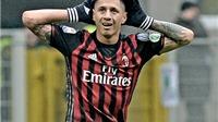 Niang đá hỏng phạt đền, Milan vẫn có 3 điểm nhờ 'thần tài' Lapadula