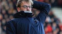Juergen Klopp nói gì về màn 'tự sát' khó chấp nhận của Liverpool?