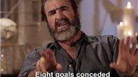 Eric Cantona đá xoáy hàng phòng ngự Man City, chế giễu chủ tịch FIFA
