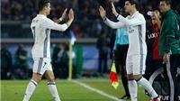 Vì sao Morata đi vào lịch sử khi vào thay Ronaldo?