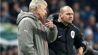 CẬP NHẬT sáng 19/12: Thua Man City, Wenger chỉ trích trọng tài. James Rodriguez ra tối hậu thư cho Real