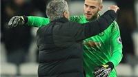 Mourinho: 'Có gì đó sai sai khi De Gea liên tục được tôn vinh'