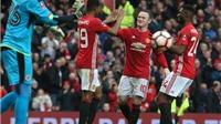 Man United 4-0 Reading: Marcus Rashford lập cú đúp, M.U giành vé vào vòng 4 FA Cup