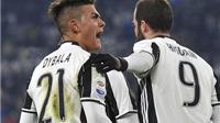 Higuain '90 triệu' lại ghi bàn giúp Juve thắng trận. Milan chật vật có 3 điểm