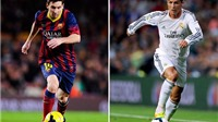Messi khiến Ronaldo 'cúi đầu' sau cú đá phạt mới nhất của mình